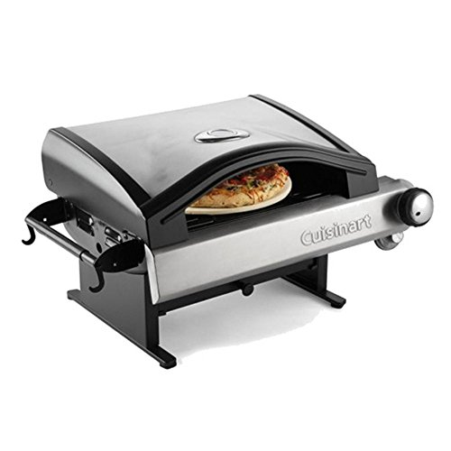 Portable-Outdoor-Propane-Pizza-Oven-Maker-Hot-Crisp-Freshly-Created-Brick-Oven-Style-Pizza-In-As-Little-As-5-Minutes-Solid-Steel-Pizza-Grill-13-Pizza-Stone-15000-BTU-Oven-Parties-Friends-Lets-Eat-0