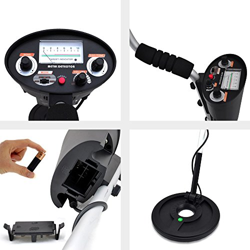 Pyle-Metal-Detector-Coin-Gold-Metal-Finder-Adjustable-Controls-Water-Proof-Coil-Treasure-Hunter-3000-PHMD3-0-1