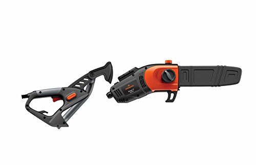 Remington-RM1035P-Ranger-II-8-Amp-Electric-2-in-1-Pole-Saw-Chainsaw-Foot-Telescoping-Shaft-and-10-Inch-Bar-for-Tree-Trimming-and-Pruning-0-0