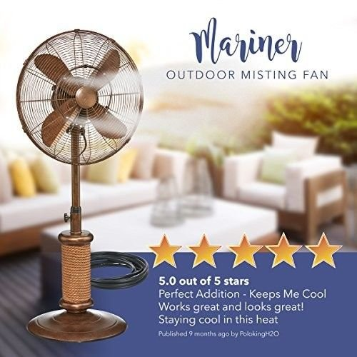 SD-LIFE-19-Inch-Summer-Misting-Fan-Stainable-Cooling-Air-Outdoor-3-Fan-Option-Garden-Spring-New-0-0