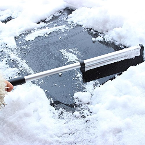 SMYTShop-2-in-1-Extendable-Telescoping-SnowBrush-Shovel-Removal-Brush-WinterFashion-vehicle-Snow-Ice-Scraper-for-CarLightweight-Sturdy-Aluminium-Design-1-pack-0-2