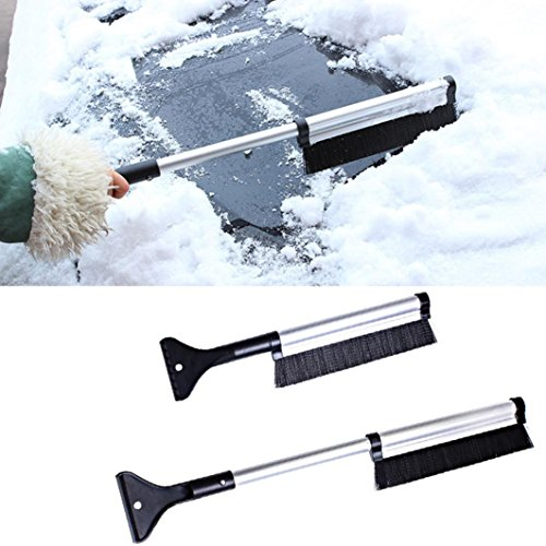 SMYTShop-2-in-1-Extendable-Telescoping-SnowBrush-Shovel-Removal-Brush-WinterFashion-vehicle-Snow-Ice-Scraper-for-CarLightweight-Sturdy-Aluminium-Design-1-pack-0