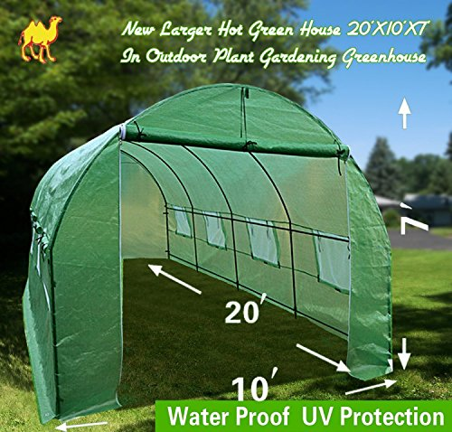 STRONG-CAMEL-New-Larger-Hot-Green-House-20X10X7-In-Outdoor-Plant-Gardening-Greenhouse-0
