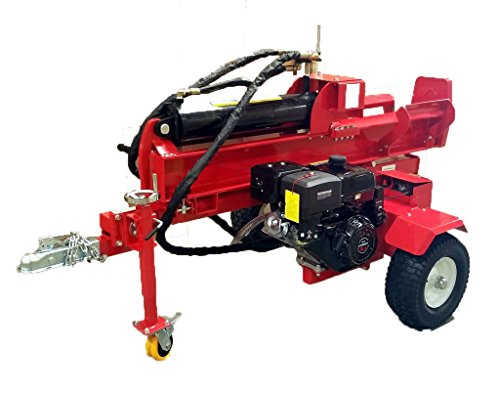 Samson-Machinery-50-Ton-15HP-Gas-Powered-18GPM-Hydraulic-Log-Wood-Splitter-Cutter-wElectric-Start-0