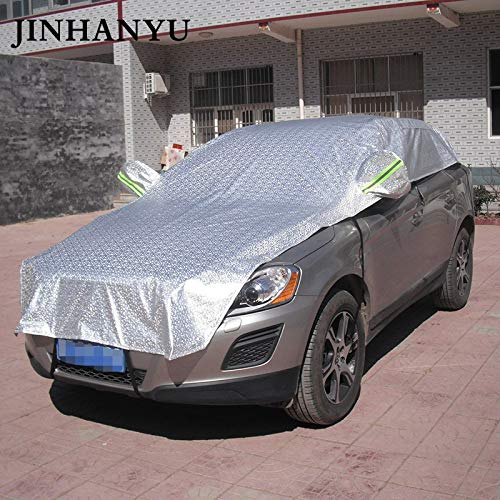 SaveStore-Car-Half-Cover-Prevent-Rain-Sun-Snow-Thick-Cars-Covers-Coating-Shield-Hatchback-Sedan-SUV-Optional-0-1