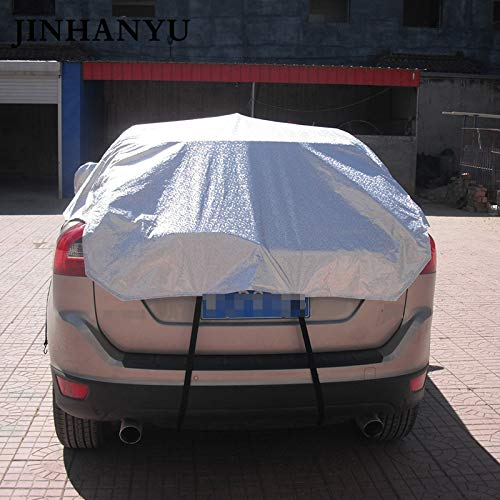 SaveStore-Car-Half-Cover-Prevent-Rain-Sun-Snow-Thick-Cars-Covers-Coating-Shield-Hatchback-Sedan-SUV-Optional-0-2