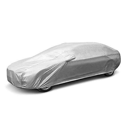 SaveStore-Practical-Durable-Full-Car-Cover-Built-in-Hooks-Ultraviolet-Radiation-Rain-Snow-Dust-Made-Premium-Polyester-Fabric-0-0
