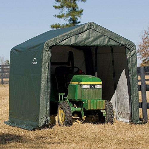 ShelterLogic-11-x-8-x-10-ft-Peak-Frame-Storage-Shed-0-0