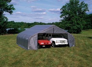 ShelterLogic-78941-Green-22x32x10-Peak-Style-Shelter-0
