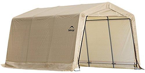 ShelterLogic-Peak-Style-AutoShelter-Sandstone-10-x-20-x-8-ft-0-0