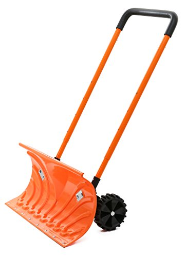 Snow-Plow-Shovel-Pusher-with-Wheels–Snow-Removal-Tools-for-Driveway-as-a-Heavy-Duty-Wheeled-Rolling-Snow-Pusher-to-Clear-the-Snow-on-Driveway-Sidewalk-or-Slippery-Roads-Effortlessly-0
