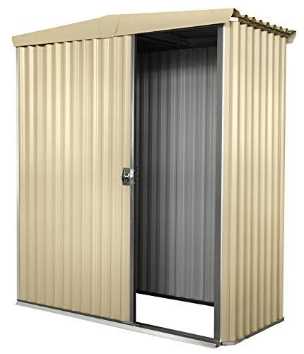 Stratco-Storage-Shed-61-ft-x-51-ft-x-62-ft-Utility-Garden-Shed-Pre-Painted-Steel-Construction-With-Sliding-Door-Easy-To-Assemble-0-0