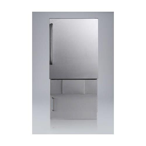 Summit-BIM24OSBase34-cemaker-Stainless-Steel-0-0