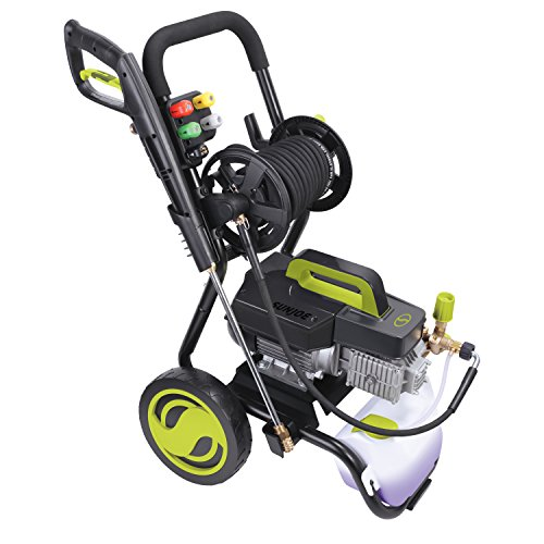 Sun-Joe-SPX9009-PRO-241-HP-1800-PSI-16-GPM-Commercial-Pressure-Washer-with-Roll-Cage-and-Hose-Reel-0-0