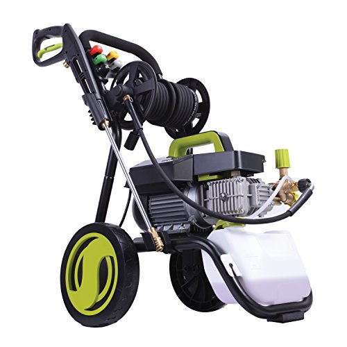 Sun-Joe-SPX9009-PRO-241-HP-1800-PSI-16-GPM-Commercial-Pressure-Washer-with-Roll-Cage-and-Hose-Reel-0-1