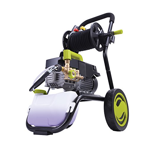 Sun-Joe-SPX9009-PRO-241-HP-1800-PSI-16-GPM-Commercial-Pressure-Washer-with-Roll-Cage-and-Hose-Reel-0