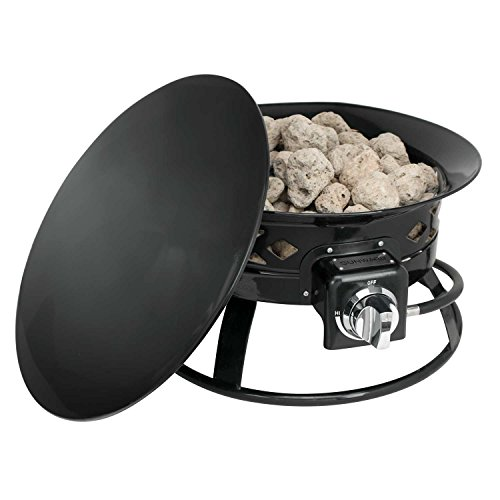 Sunward-Patio-Portable-Outdoor-58000-BTU-Propane-Fire-Pit-19-Fire-BowlLava-Rocks-Carry-Handle-Lid-and-Weather-Resistant-Bag-Included-0-1