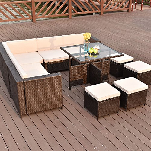 TANGKULA-10-PCS-Wicker-Furniture-Set-Outdoor-Conversation-Set-0-1