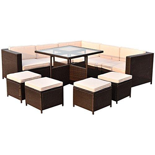 TANGKULA-10-PCS-Wicker-Furniture-Set-Outdoor-Conversation-Set-0