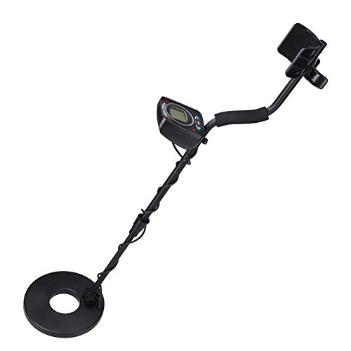 TRIPREL-INCLCD-Metal-Detector-LED-Light-Sensitive-Search-Treasure-Hunter-Waterproof-Coil-Black-0-0