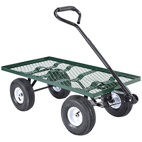 Tek-Widget-Heavy-Duty-Garden-Nursery-Wagon-Cart-660lbs-0-0