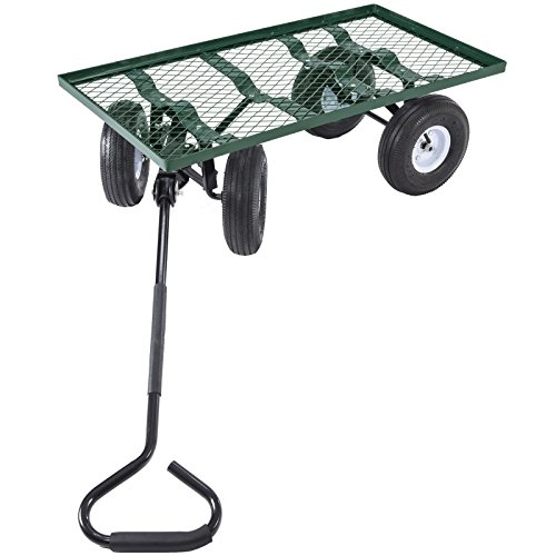 Tek-Widget-Heavy-Duty-Garden-Nursery-Wagon-Cart-660lbs-0-1