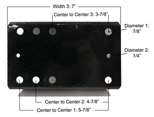The-ROP-Shop-4-Spare-TIRE-Wheel-Carrier-Kits-with-Hardware-Heavy-Duty-Holder-Bracket-for-RV-0-1
