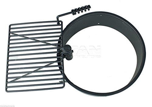 Titan-Outdoors-24-32-36-Steel-Fire-Ring-wCooking-Grate-Campfire-Pit-Camping-Park-Grill-0-2
