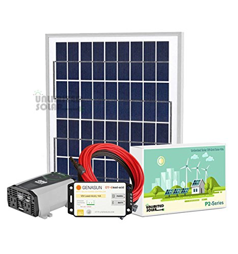 Unlimited-Solar-P4-Series-10-Watt-12-Volt-MPPT-Off-Grid-Solar-Panel-Kit-0
