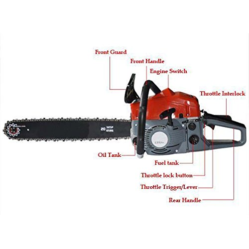 Utheing-Chain-Saw-20-2-Stroke-42HP-Gas-Powered-with-Smart-Start-Super-Air-Filter-System-Automatic-Carburetor-and-Tool-Kit-0-1
