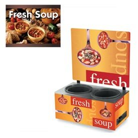Vollrath-7203103-Twin-7-qt-Well-Soup-Merchandiser-Base-with-Menu-Board-and-Country-Kitchen-Graphics-0