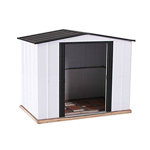 Weizhengheng-Color-Steel-Outdoor-Storage-Shed-Lifetime-Garden-Shed-5-X-6-ft-0