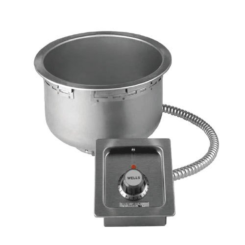 Wells-SS-10T-Food-Warmer-top-mount-built-in-electric-for-11-quart-round-insert-n-0