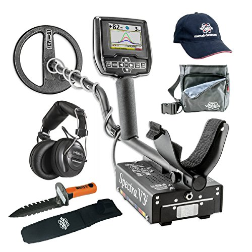 Whites-Spectra-V3i-Metal-Detector-GEARED-UP-Bundle-with-Wireless-Headphones-0