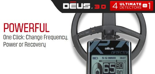 XP-DEUS-Metal-Detector-with-FX-02-Wired-Backphone-Heaphones-Remote-9-Coil-0-1
