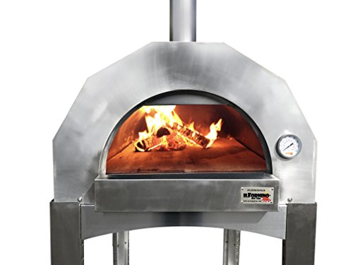 ilFornino-Platinum-Plus-Wood-Fired-Pizza-Oven-Adjustable-Height-One-Flat-Cooking-Surface-0