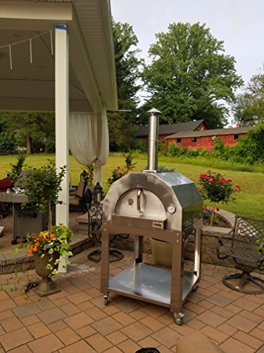 ilFornino-Platinum-Series-Stainless-Steel-Wood-Fired-Pizza-Oven-0-0