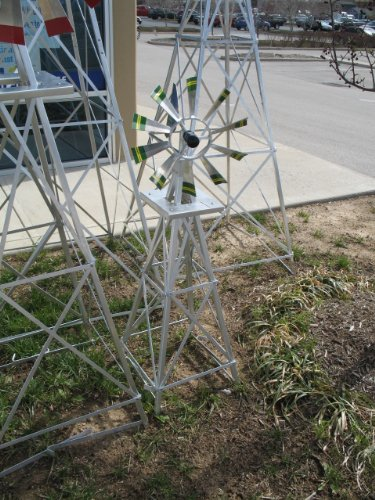4-Ft-Premium-Aluminum-Decorative-Garden-Windmill-Green-Trim-0-1