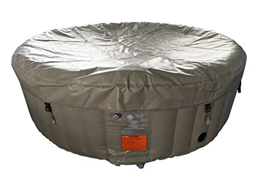 ALEKO-HTIR6BRW-Round-Inflatable-Hot-Tub-Spa-with-Cover-6-Person-265-Gallon-Brown-and-White-0-2