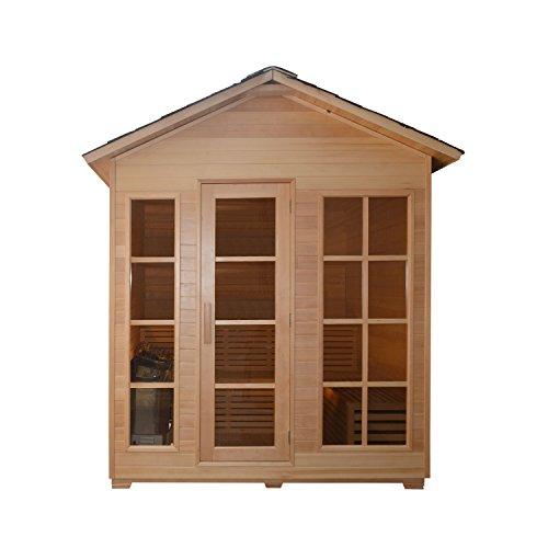 ALEKO-STO6IMATRA-Canadian-Hemlock-Indoor-Outdoor-Wet-Dry-Sauna-and-Steam-Room-45-kW-ETL-Certified-Heater-4-Person-71-x-47-x-845-Inches-0-0