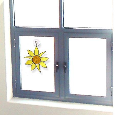 American-Made-Sunflower-Art-Glass-Sun-Catcher-0-0
