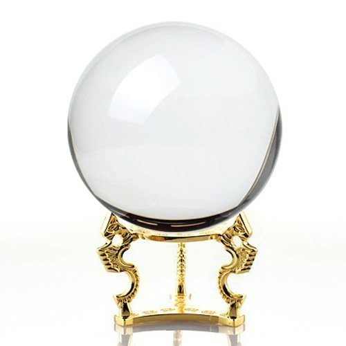 Amlong-Crystal-Crystal-Ball-110mm-42-in-Including-Golden-Dragon-Stand-and-Gift-Package-0