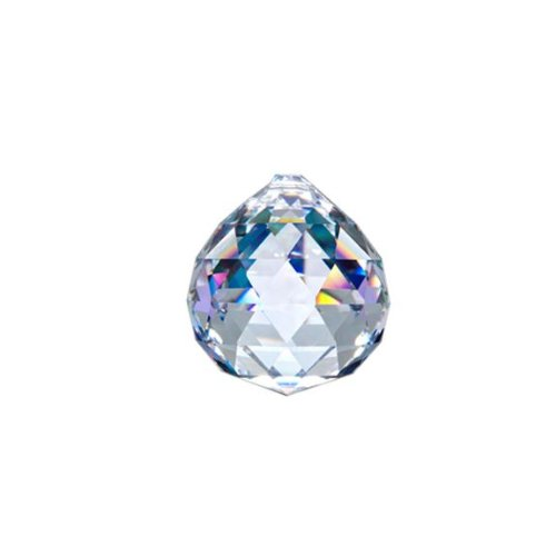 Asfour-Crystal-701-Clear-Crystal-Ball-Prism-30-mm-1-Hole-Box-of-90-Pieces-0