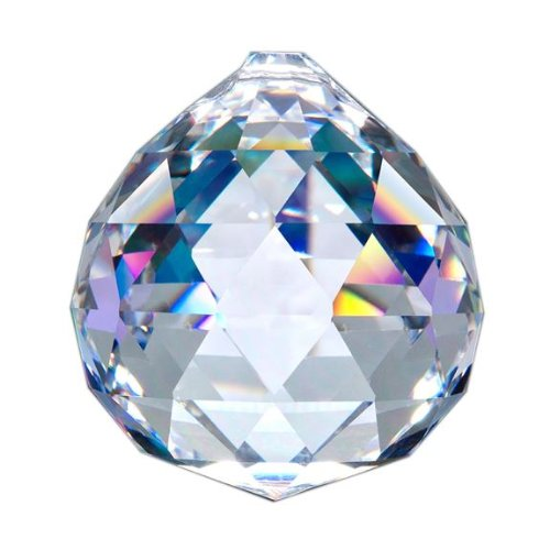 Asfour-Crystal-701-Clear-Crystal-Ball-Prism-50-mm-1-Hole-Box-of-12-Pieces-0