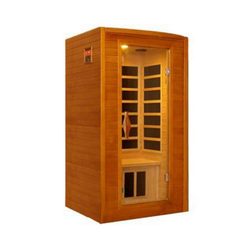 Better-Life-BL-6202-2-Person-Carbon-Infrared-Sauna-47-by-41-by-75-Inch-Natural-Hemlock-Wood-Finish-0