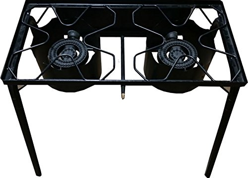 Bioexcel-Heavy-Duty-Outdoor-Propane-Gas-Stove-Burner-Cooker-in-many-BTU-Range-with-5-PSI-CSA-Approved-Hose-and-Regulator-Set-with-or-without-Griddle-0-0