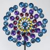 Bits-and-Pieces-Multi-Colored-72-Metallic-Wind-Spinner-Windspinner-Made-of-Metal-and-Steel-Unique-Outdoor-Lawn-and-Garden-Dcor-0