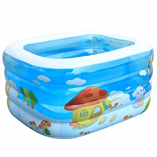 Childrens-Pool-Family-Square-Inflatable-Pool-Childrens-Paddling-Pool-0