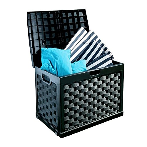 Comforter-Storage-Bench-for-Indoor-and-Outdoor-71-Gallon-Black-Plastic-Garden-Storage-Box-Pool-Storage-Patio-Deck-Box-E-Book-0