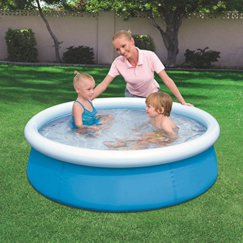 DMGF-Inflatable-Easy-Set-Pool-Family-Play-Pool-Summer-Water-Fun-Lounge-Padding-Pool-Above-Ground-Swim-Center-With-Electric-Air-Pump-60X15inBlue1-0-0